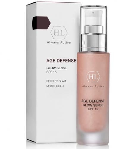 Holy Land AGE DEFENSE Glow Sense (SPF 15) |Крем с декоративным эффектом, 50 мл